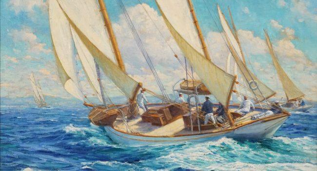 Anton_Otto_Fischer_-_Summer_Seas